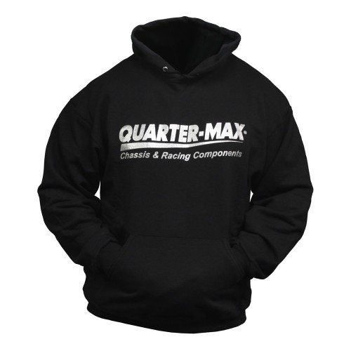 Quarter-Max Take Your Car To The Max Hooded Sweatshirt - front