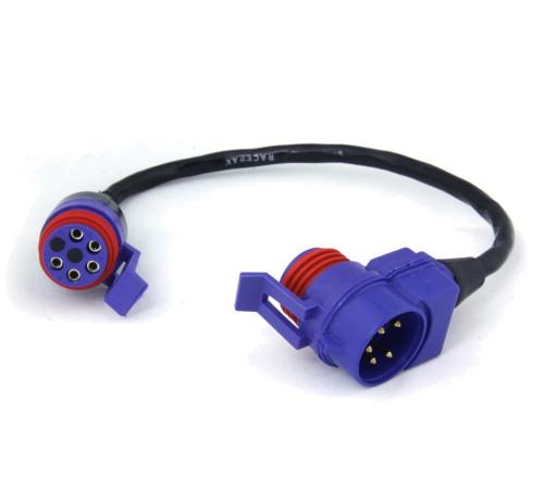 """Racepak V-Net Tee Cable, 9"""""""
