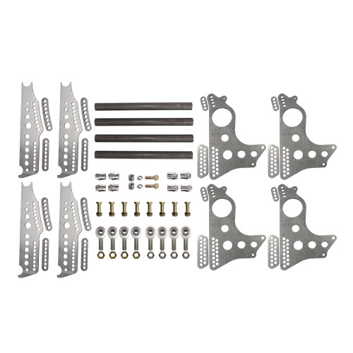 "Quarter-Max 201214 Extreme Pro Series 4-Link Kit with 15"" Notch Spread Chassis Brackets"