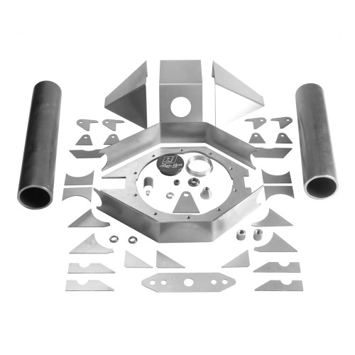 "RJ Pro 4130 9"" Ford Fabricated Housing Kit"