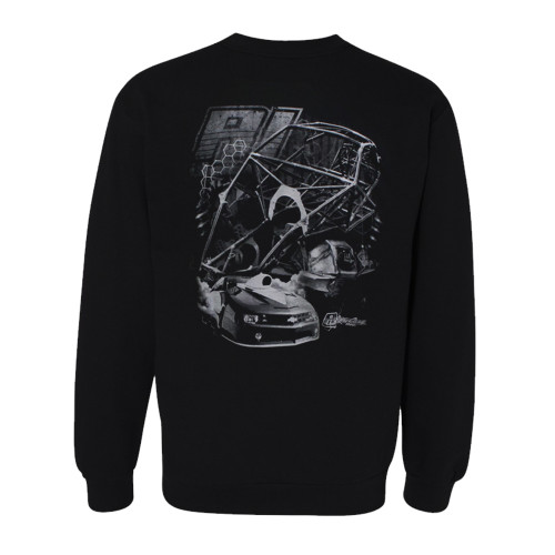 Quarter-Max/RJ Race Cars Chassis Sweatshirt - Back
