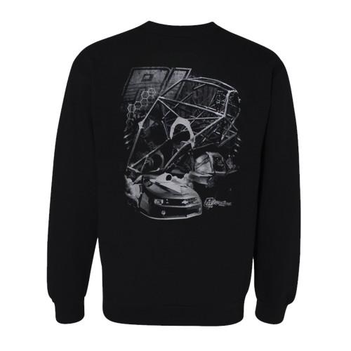 Quarter-Max/RJ Race Cars Chassis Sweatshirt - Back