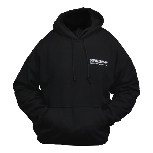 Quarter-Max/RJ Race Cars Chassis Hooded Sweatshirt - front