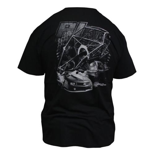 Quarter-Max/RJ Race Cars Chassis T-Shirt - Back
