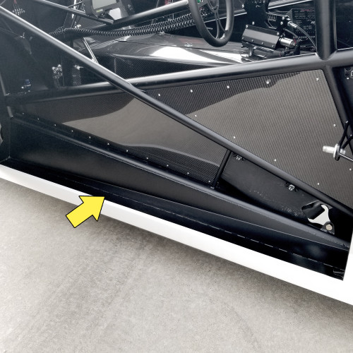 Quarter-Max Rocker Panel Mount Kit - Installed