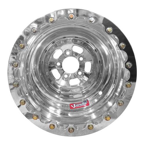 "Sander Engineering 760 Series, 16"" x 16"", 5"" x 4.75"", 4"" BS, Polished"