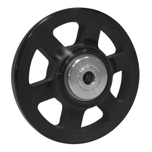 "RJ-219707-4 - Slim-Line Wheelie Bar Wheels, 6-Spoke, 1-1/4"" Hub Width"