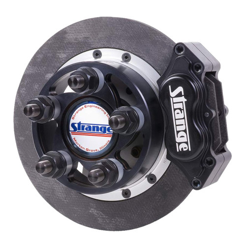"Strange Engineering C18104UC Pro Carbon Rear Brake Kit for Symmetrical Ends, 4-3/4"" BC, 2.832"" Offset"