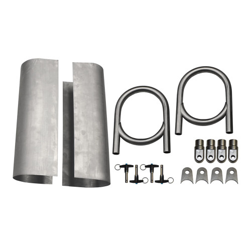"Quarter-Max Titanium 18"" Pro Drive Shaft Tunnel Kit"