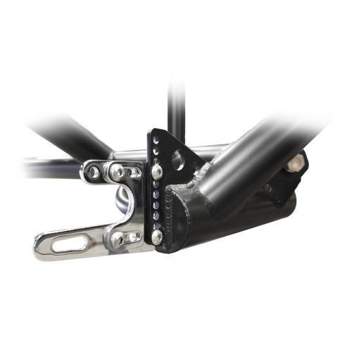 Quarter-Max Adjustable Front End Fork Mount Kit - Installed