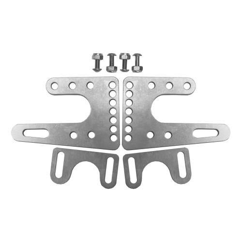 Quarter-Max Front End Forks & Stoppers, Titanium