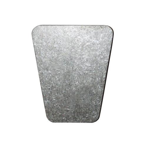Quarter-Max Titanium Gas Pedal Pad