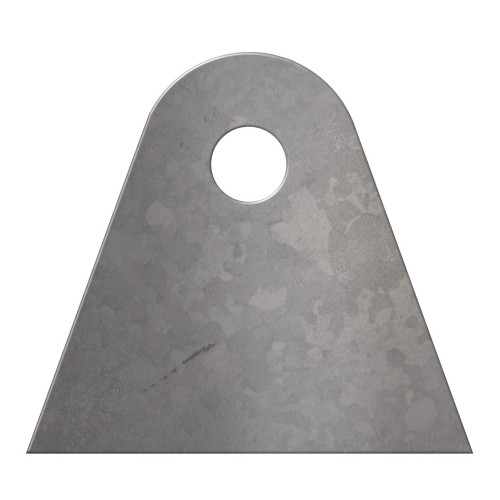"""Quarter-Max Universal Bracket, 4130, 1/8""""Thick with 3/8"""" Hole"""
