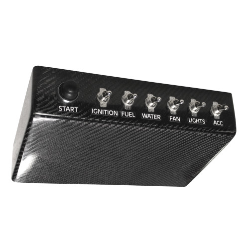 Quarter-Max Universal Carbon Switch Panel