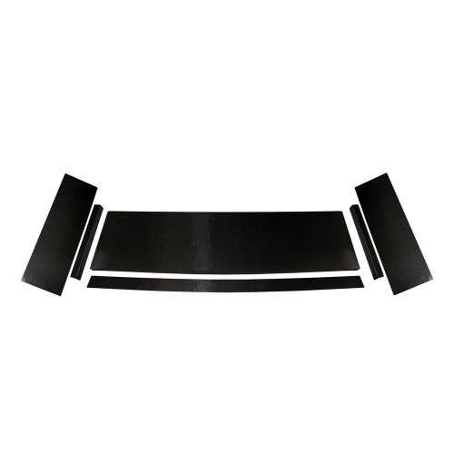 Quarter-Max Universal Carbon Fiber Wing Kit