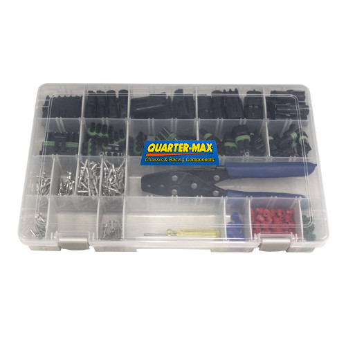Quarter-Max Weather Pack Connector Kit with Tools