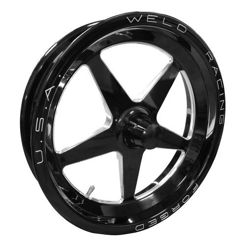 """Weld Racing AlumaStar 2.0, 15"""" x 3.5"""", Anglia, 1.75"""" BS, Black"""