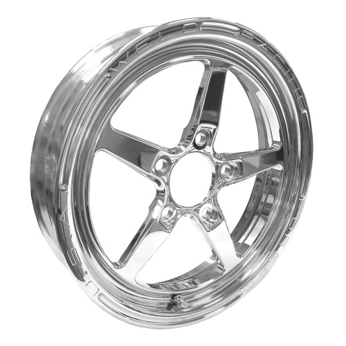 "Weld Racing AlumaStar 2.0, 15"" x 3.5"", 5"" x 4.75"", 2.25"" BS, Polished"