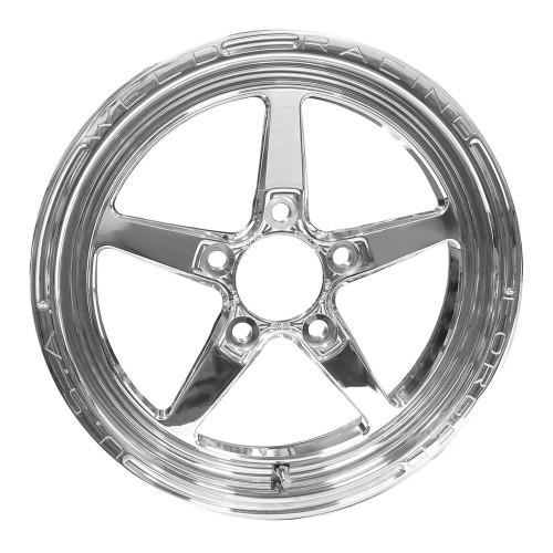 """Weld Racing AlumaStar 2.0, 15"""" x 3.5"""", 5"""" x 4.75"""", 2.25"""" BS, Polished"""
