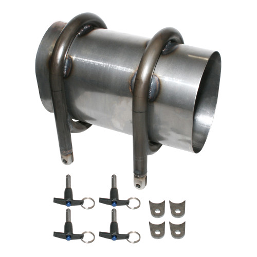 Quarter-Max Welded Pro Driveshaft Tunnel
