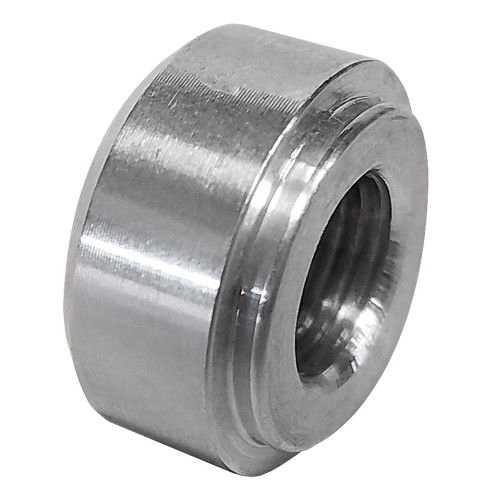 """Quarter-Max 212123-.125 Aluminum Weld-In Bung 1/8"""" NPT"""