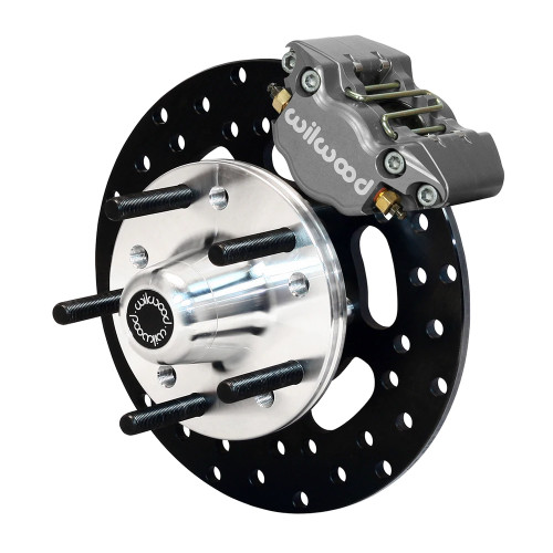 Dynapro Single Front Drag Brake Kit, 67-69 Camaro, 64-72 Nova, Chevelle