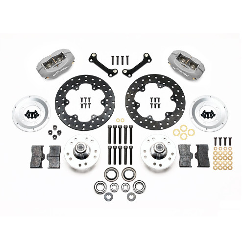 Forged Dynalite Front Drag Brake Kit, 82-92 Camaro/Firebird - Kit