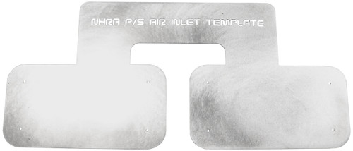 Quarter-Max 430021 NHRA Pro Stock K&N Air Inlet Template
