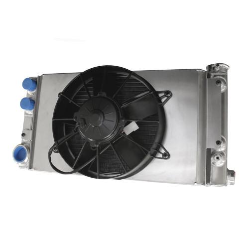 56mm Pro Stock Radiator with Fan & Shroud