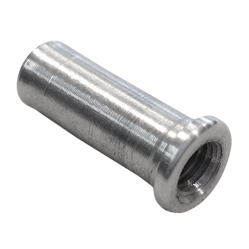 "10-32 LH x 3/8"" .037"" Tube Adapter for Carbon Fiber Tube"