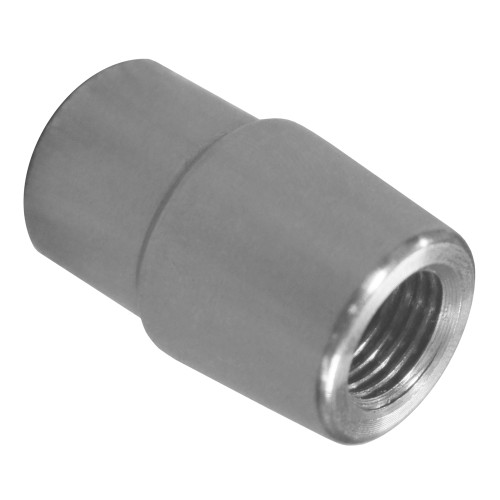 "1/2""-20 RH x 7/8"" .083"" Tube Adapter, Long Style"