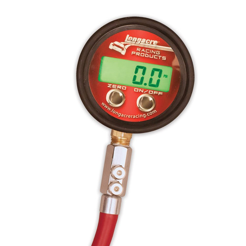 Longacre Pro Digital Tire Pressure Gauge, 0-60 PSI