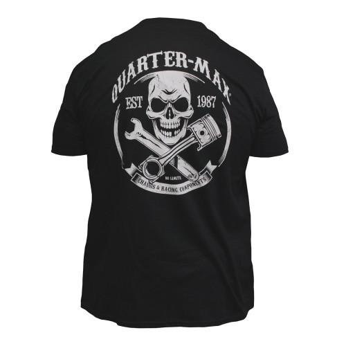 Quarter-Max Skull T-Shirt - Back