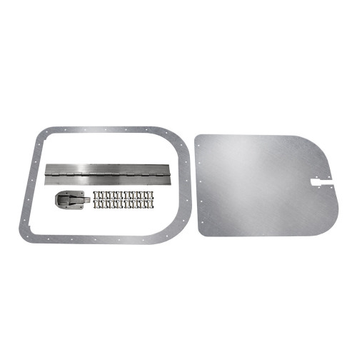 Quarter-Max Aluminum Access Door, Surface Mount, Extra Large