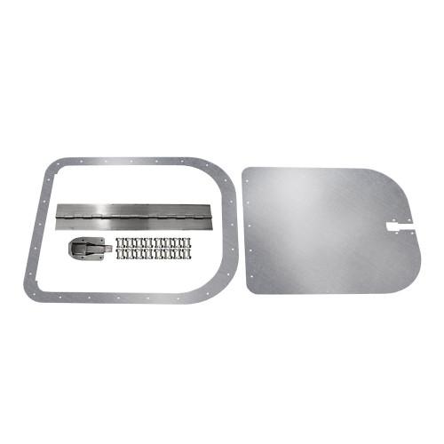 Quarter-Max Aluminum Access Door, Surface Mount, Extra Large