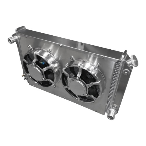 Entropy Radiator 1978-1988 Monte Carlo Aluminum Radiator with Dual HPX Fans