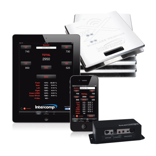 Intercomp SW656 iRaceWeigh Scale System