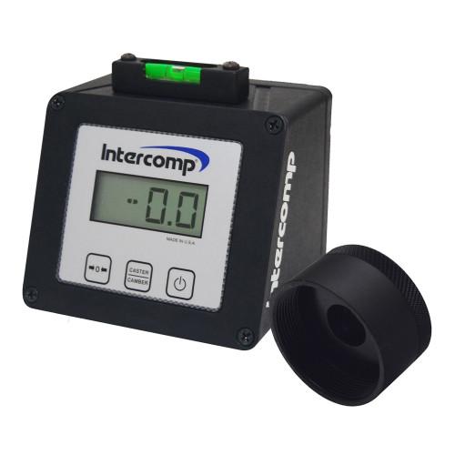 Intercomp Digital Caster Camber Gauge with Wide-5 Adapter