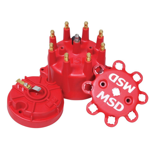 MSD Red Cap/Rotor Kit