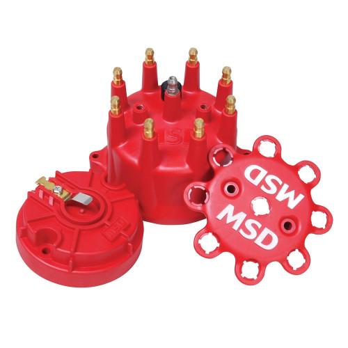 MSD Red Cap/Rotor Kit