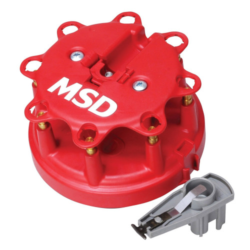 MSD Distributor Cap & Rotor Kit, FORD V8 TFI, 1985-1995