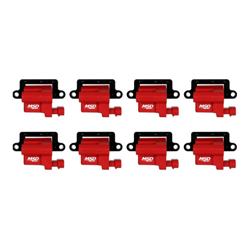MSD Blaster LS Coil for 1999-2009 GM L-Series Truck, 8-Pack
