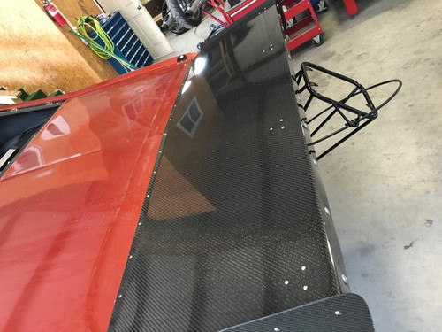 Quarter-Max 1968-1974 Chevrolet Nova Carbon Fiber Wing - Installed