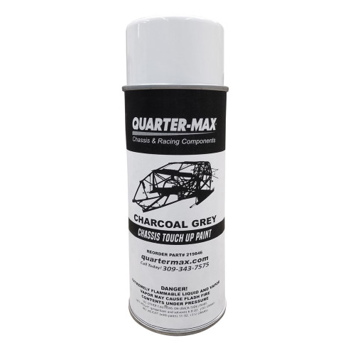 Quarter-Max Chassis Paint, Charcoal Grey