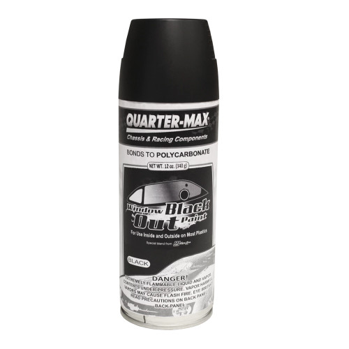 Quarter-Max Window Black Out Paint