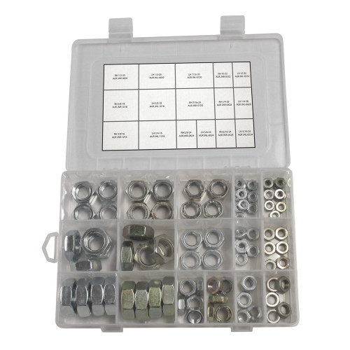 Quarter-Max Jam Nut Kit #110106 - Open