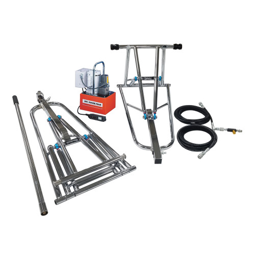 """ProJack 17"""" Lift Height, .5 HP Electric/Hydraulic Pump, Remote Up/Manual Down"""