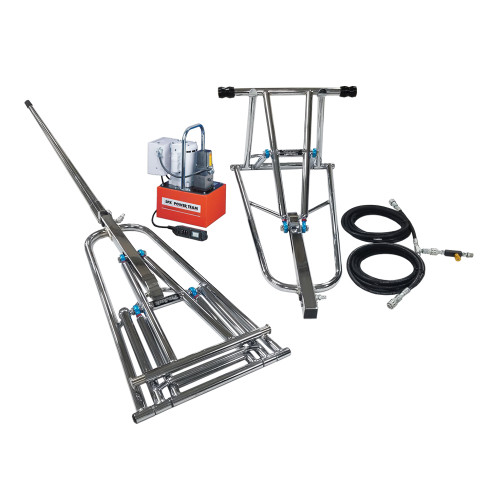 """ProJack 19"""" Lift Height, .5 HP Electric/Hydraulic Pump, Remote Up/Manual Down"""