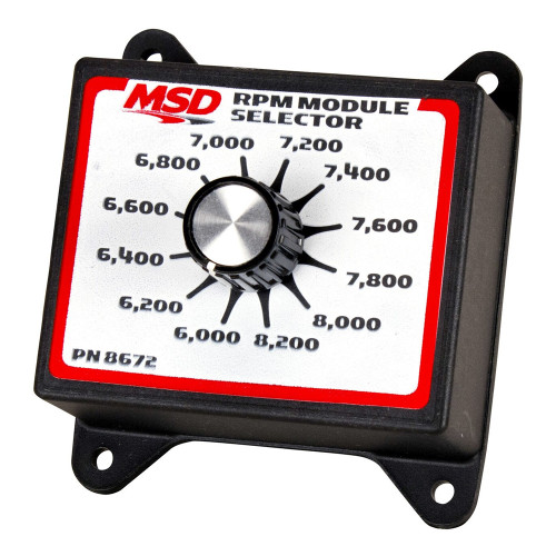 MSD RPM Selector Switch, 6.0K-8.2K