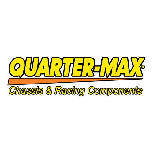 "Quarter-Max Decal, Yellow & Orange, 16"" x 4-1/2"""